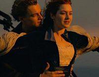 Escena de 'Titanic':