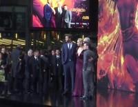 Estreno mundial del filme 'Los Juegos del Hambre: Sinsajo-Parte 2' en Berlín