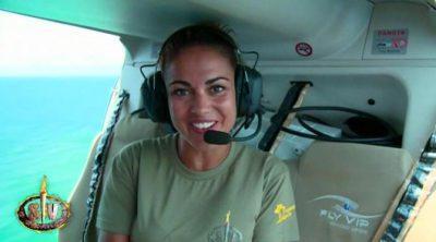 Lara Álvarez avanza las novedades de 'Supervivientes 2017' mientras sobrevuela los Cayos Cochinos