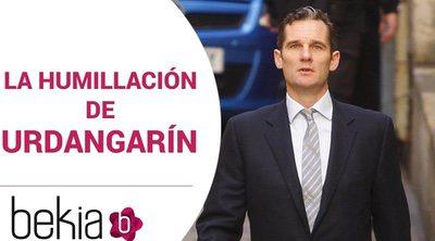 La humillación pública a la que fue sometido Iñaki Urdangarin