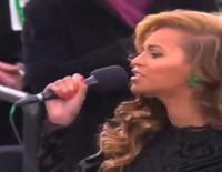 Beyoncé interpreta el himno de Estados Unidos en la Super Bowl