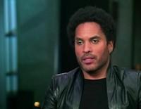 Lenny Kravitz Antes Del Estreno De En Llamas Jennifer Lawrence
