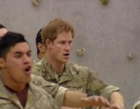 El Príncipe Harry baila la Haka, la danza de guerra maorí