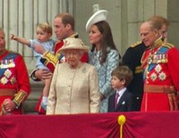 El primer Trooping the Colour del Príncipe Jorge y la reaparición de Kate Middleton