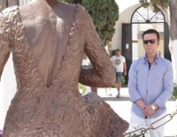 José Ortega Cano visita la tumba de Rocío Jurado tras recibir el tercer grado