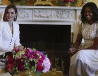 Los Obama abren la Casa Blanca a los Reyes Felipe y Letizia