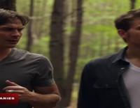 Ian Somerhalder se desnuda en el teaser de la séptima temporada de 'Crónicas vampíricas'
