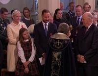 Harald de Noruega cumple 25 años en el Trono