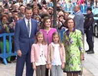 Misa de Pascua 2016: Reunión en Mallorca de la Familia Real Española