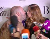 Kiko Rivera e Irene Rosales demuestran su amor con un bonito beso