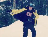 Brooklyn Beckham se rompe la clavícula mientras hace snow en Canadá