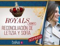 La reconciliación de la Reina Letizia y la Reina Sofía, un teatrillo necesario