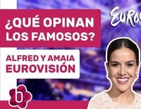 ¿Qué opinan los famosos sobre Alfred y Amaia en Eurovisión 2018?