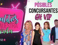Concursantes que podrían entrar en 'GH VIP 6'