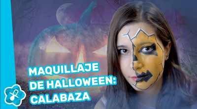Halloween: Maquillaje de calabaza de niños